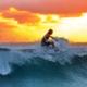 Fit durch den Tag - Surfen