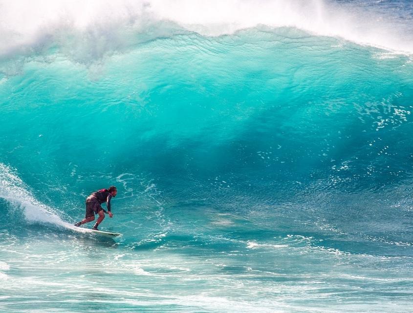 Fit durch den Tag - Surfen 2